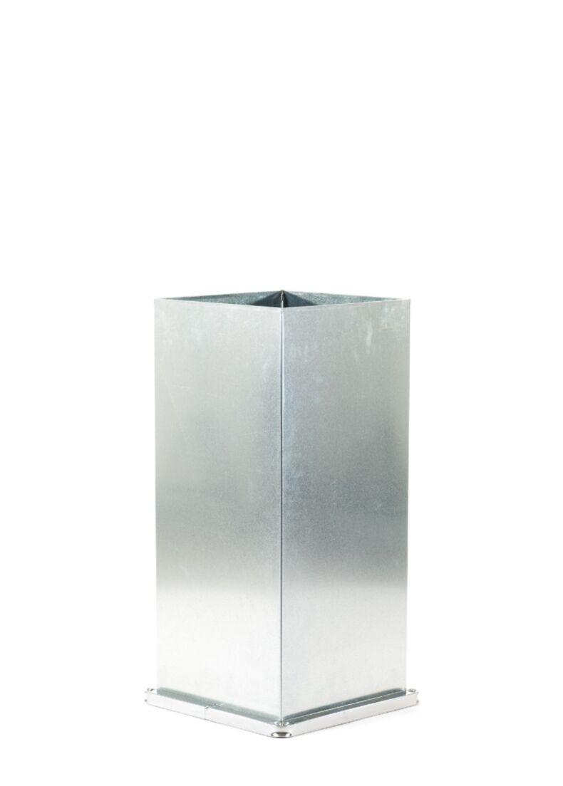 vaso contenitore FERRUM in acciaio zincato