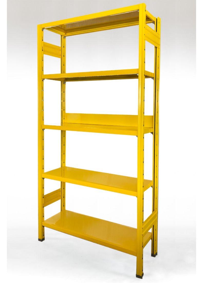 libreria colore giallo per uffici e negozi