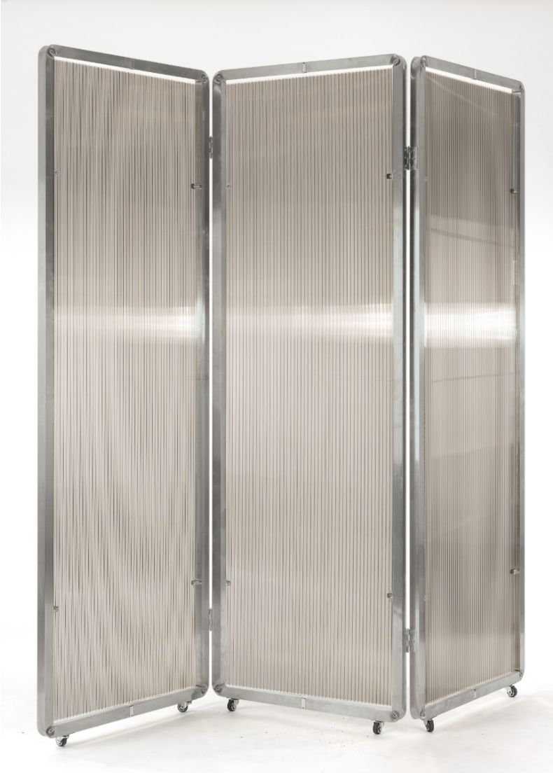 separè in acciaio per ambienti indoor e outdoor situèr milano