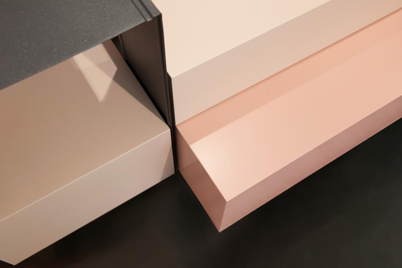 allestimento di design per negozi e showroom  in stile situér milano