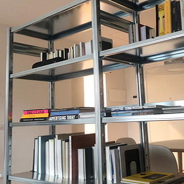 Librerie in acciaio di design per lo studio di casa